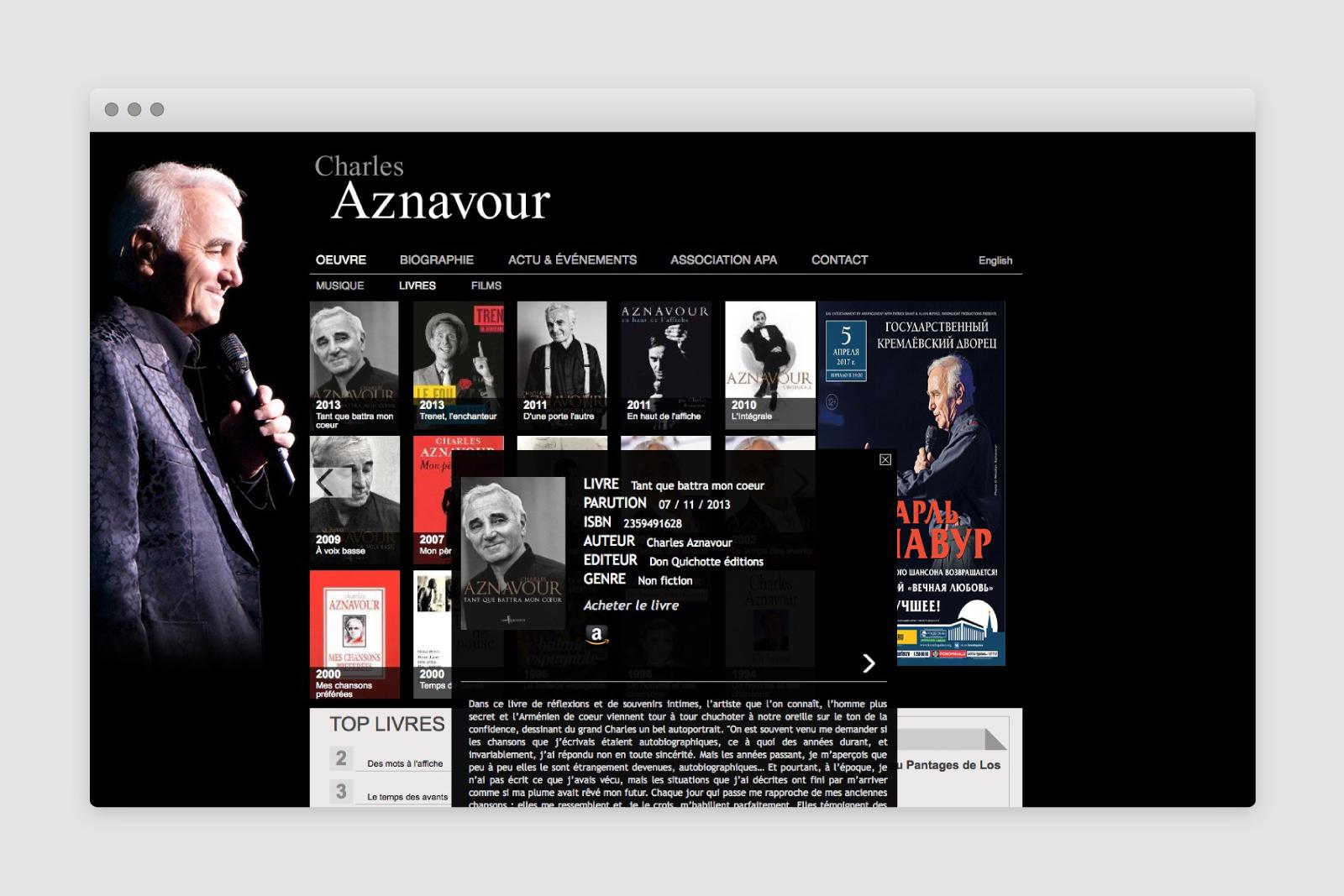 charles aznavour. Black Bedroom Furniture Sets. Home Design Ideas